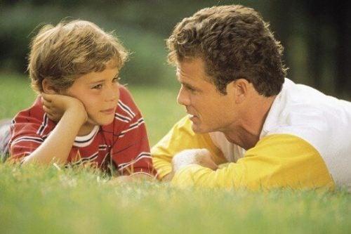 escutar seu filho