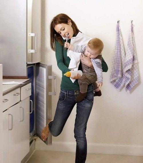 10 Conselhos para as mães que não tem tempo para nada