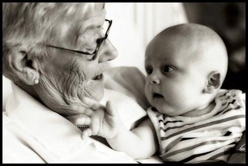 A herança genética dos avós