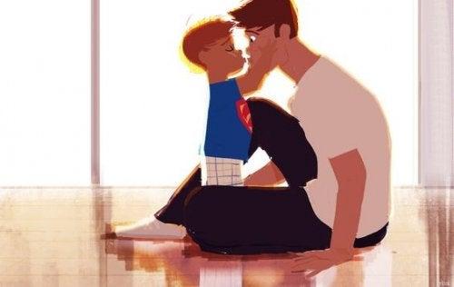 Meu filho pode ser sensível, afetuoso, carinhoso…