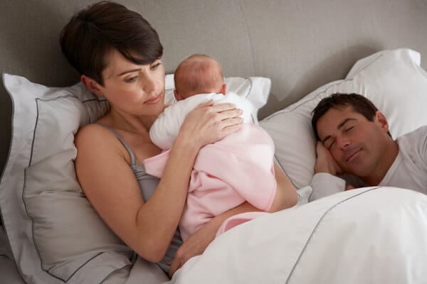O que fazer se o meu filho acorda durante a noite?