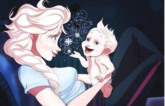 Amor de mãe é quando o seu bebê começa a falar e só você entende