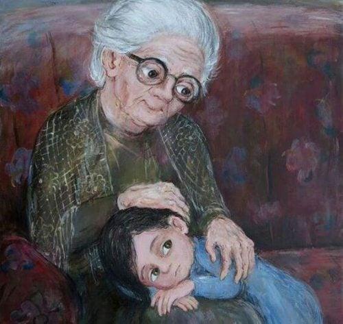 Minha avó, a mais bonita estrela no céu