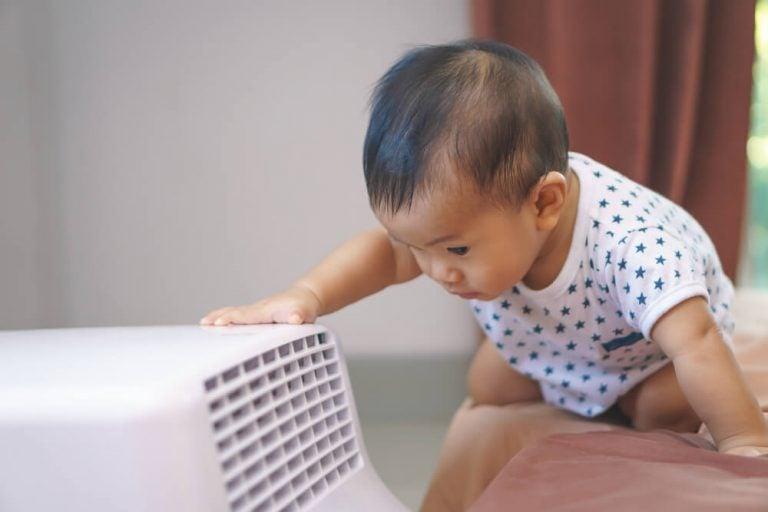 O uso do ar-condicionado quando você tem um bebê