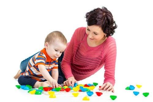 brincadeiras para bebês