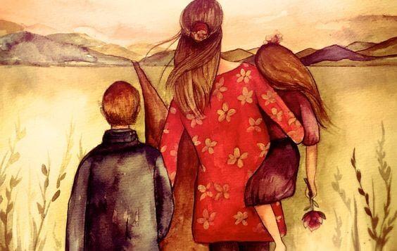 Uma casa é construída com as mãos, uma família com o coração