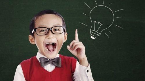 a inteligência das crianças