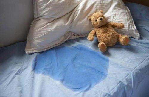 molhando a cama