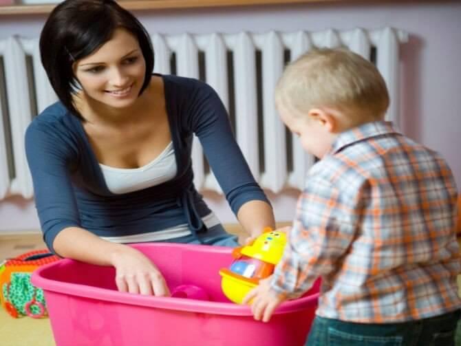 Crianças também podem ajudar nas tarefas de casa