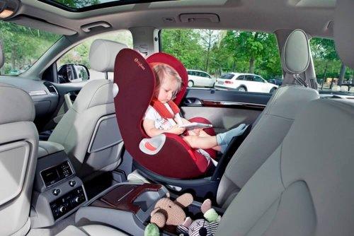 Tipos de cadeirinhas de carro para bebês e crianças