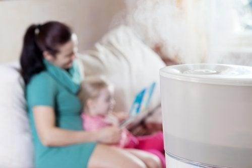 Umidificador de ar o que é e por que é importante para o seu bebê?