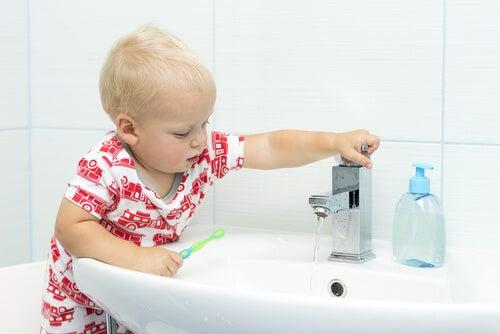 hábitos de higiene pessoal