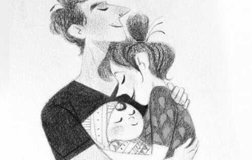 A vida de casal depois de ter um filho