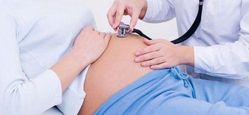 Exame clínico de placenta prévia
