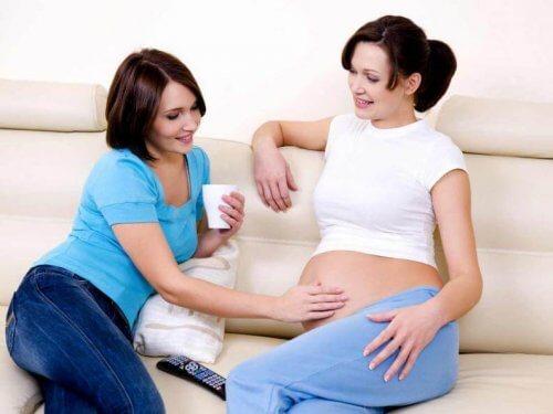 O que não dizer a uma mulher grávida?