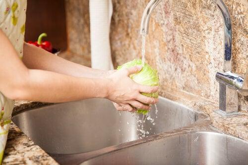 Lavar os alimentos antes de ingeri-los para prevenir infecções na gravidez