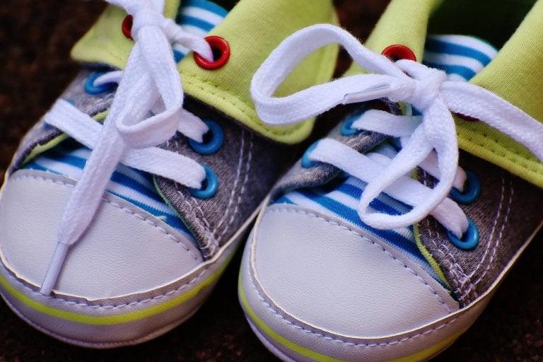 sapatos adequados