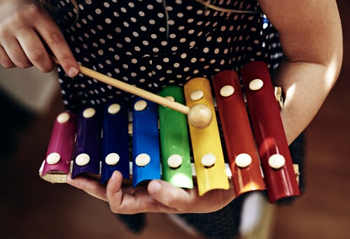 A música clássica e o xilofone