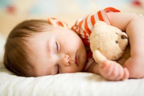 Os horários de sono das crianças