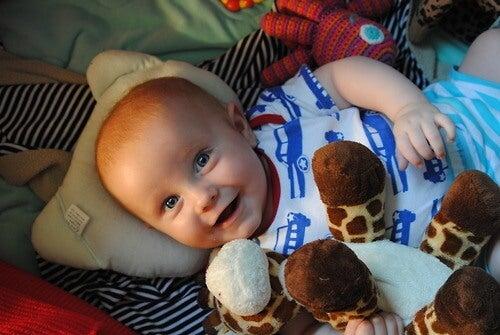 Formas de estimular a visão dos bebês