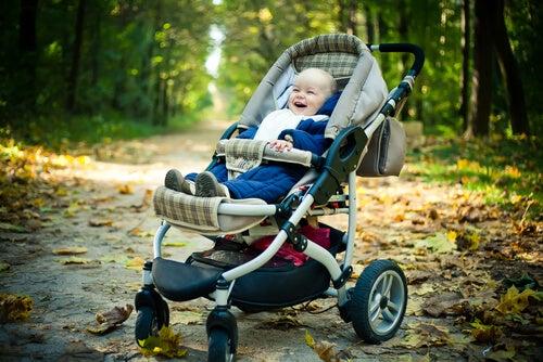 Carrinho de bebê: conselhos e considerações