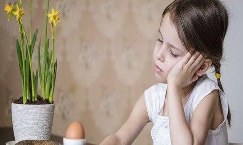 A perda de peso na infância