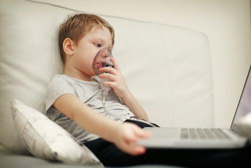 A fibrose cística nas crianças