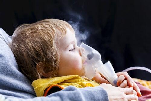 9 sintomas de asma nas crianças