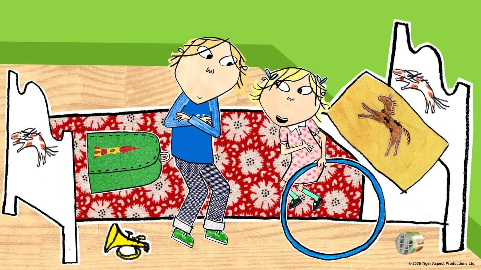 séries de desenhos animados para crianças