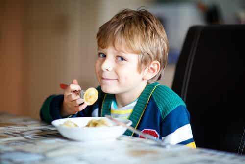 A importância de ter uma alimentação saudável desde cedo