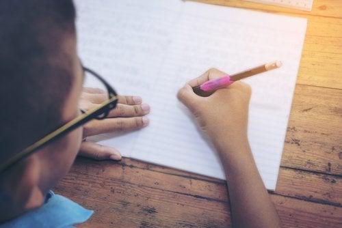 escrita criativa nas crianças