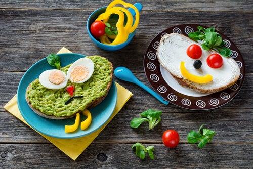 5 receitas de vegetais para crianças