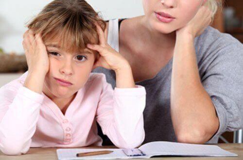 O apoio dos pais é fundamental para crianças com problemas de aprendizagem