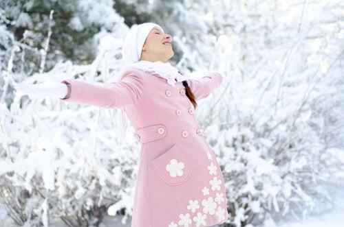 Dar à luz no inverno: prós e contras