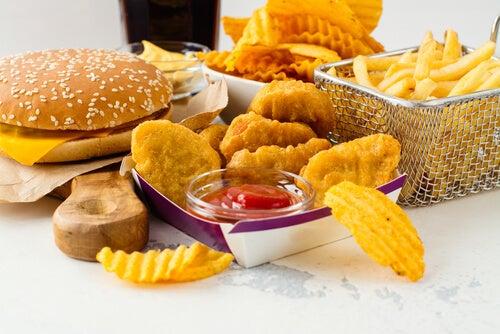 comidas gordurosas