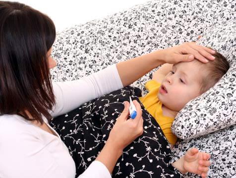 Os pais hipocondríacos e a saúde das crianças