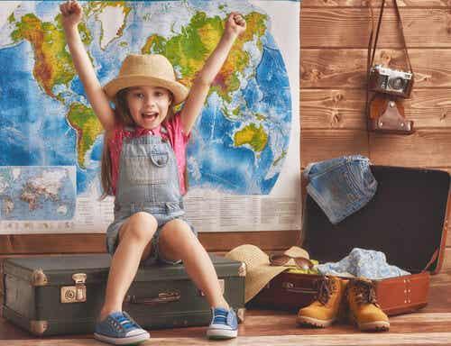 Como viajar desde pequeno e conhecer diferentes culturas afeta uma criança