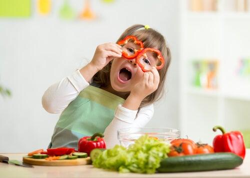 5 receitas de verdura para crianças
