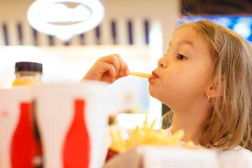 O colesterol infantil