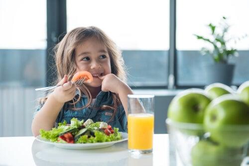 Ensine seu filho a ter uma alimentação saudável
