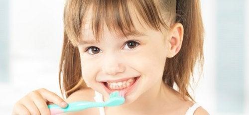 queda dos dentes de leite