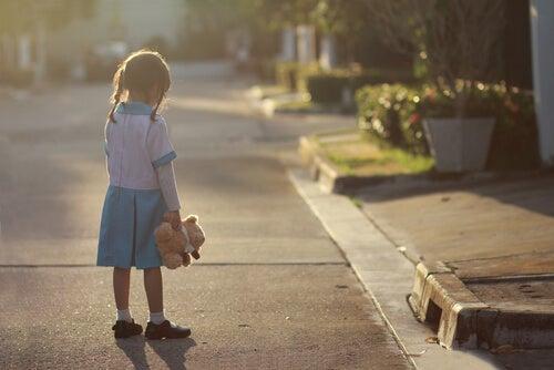 A depressão nas crianças
