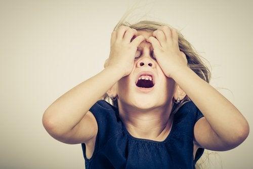 a ansiedade nas crianças