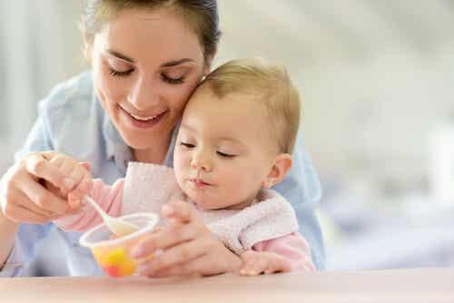 Receitas doces para bebês de 12 a 24 meses