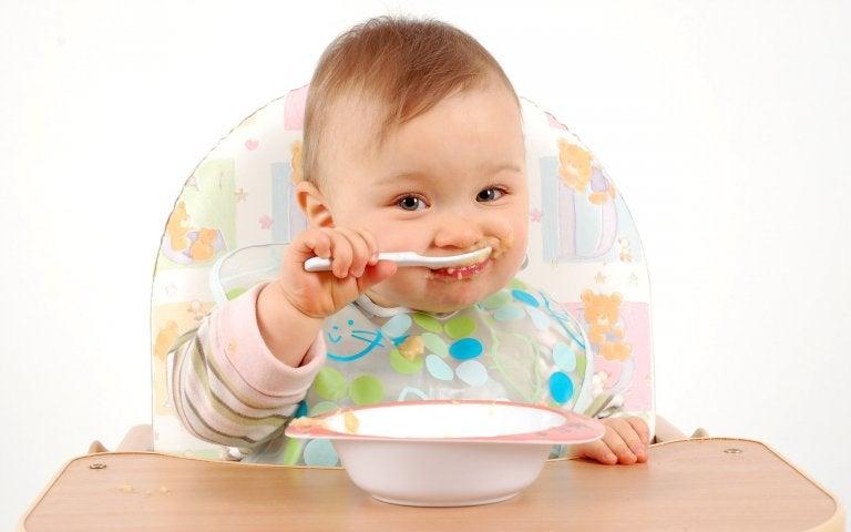 Receitas doces para bebês