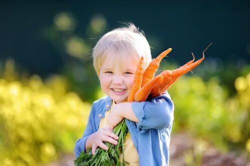Como as dietas veganas influenciam a vida das crianças?