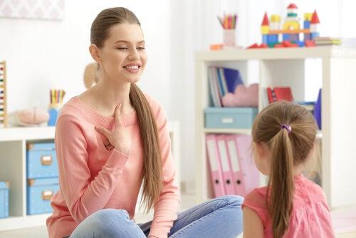 Como ajudar quando a criança pronuncia errado