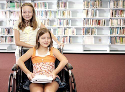 a educação inclusiva