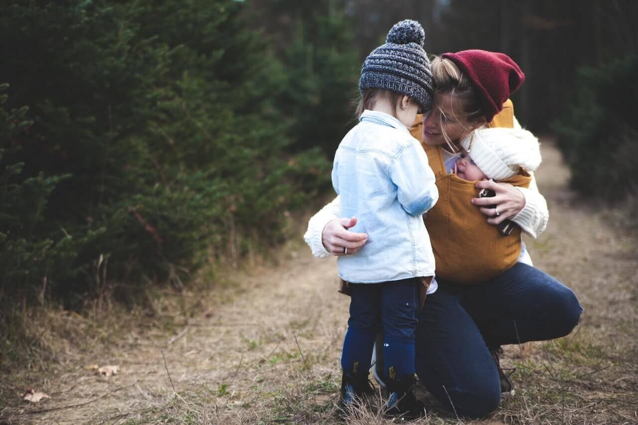 Mãe Campo com Filho