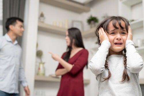 Consequências da discussão para as crianças